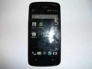 Сотовый телефон HTC Desire 500 с разбитым тачскрином