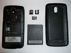 Сотовый телефон HTC Desire 500 без аккумулятора, задней крышки, сим и флеш карт