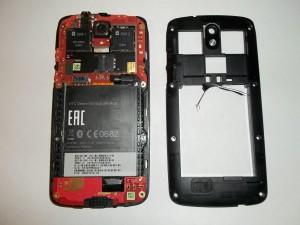 Разбираем телефон HTC Desire 500