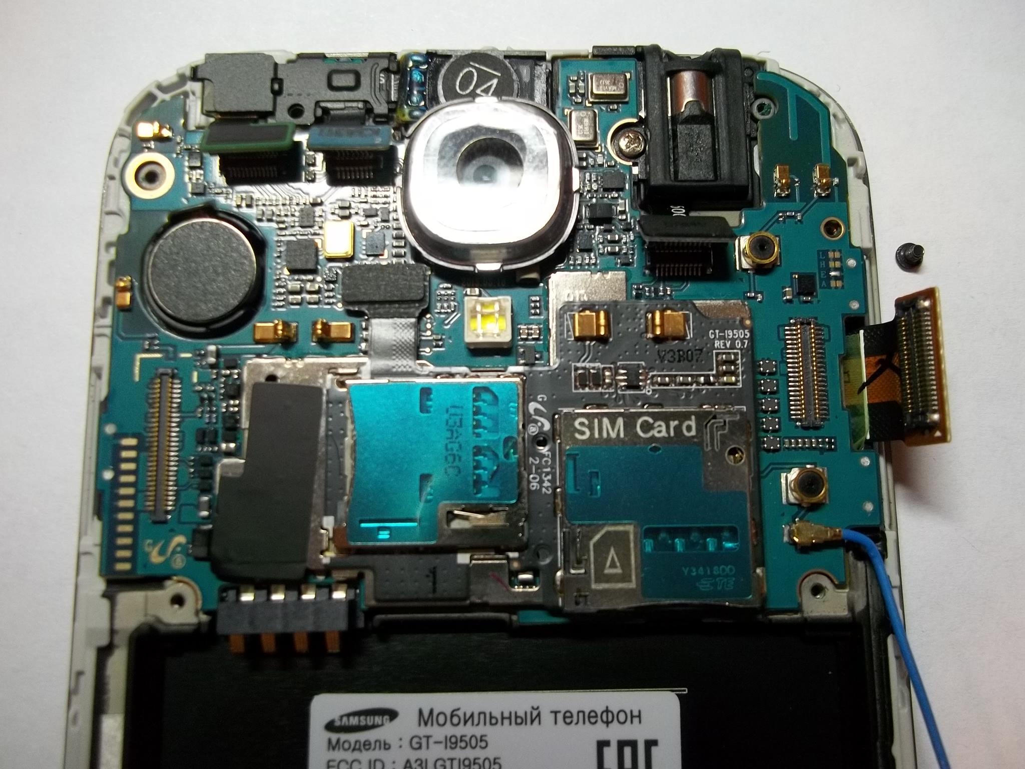 Схема samsung s4 i9505