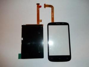 Новый тачскрин и дисплей сотового телефона HTC Desire C