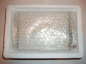Тщательно упакованный китайцами тачскрин для планшета RoverPad Air 7.85 3G