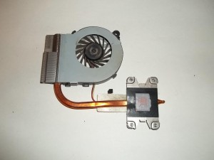 Система охлаждения ноутбука HP Pavilion g6 в сборе
