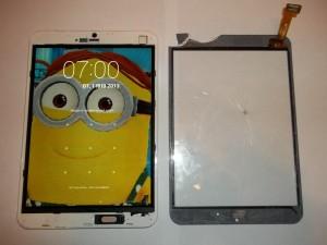 Выломанный тачскрин планшета RoverPad Air 7.85 3G