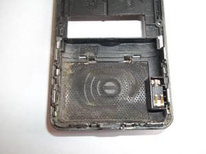 Грязный корпус сотового телефона Explay MU240
