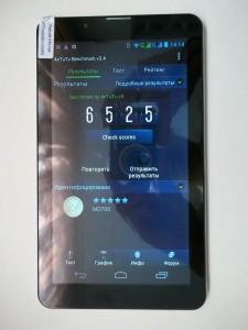 Результаты antutu планшета на MTK6577