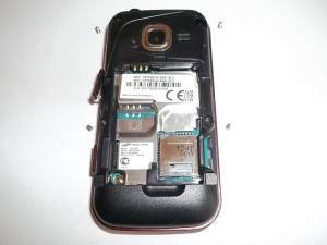 4 винта сотового телефона Samsung GT-C3752 DUOS