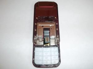 Верхняя часть слайдера Samsung GT-C3752 DUOS