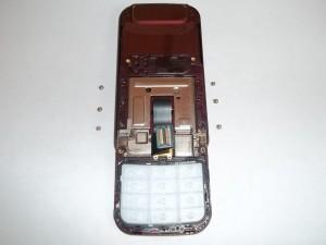 6 винтов верхней части слайдера Samsung GT-C3752 DUOS