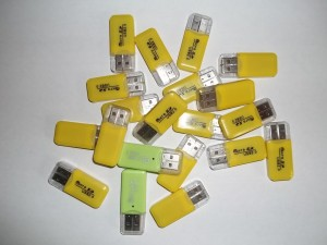 USB Micro SD Reader