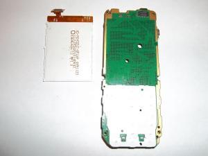 Отключенный дисплей сотового телефона Nokia C2-01