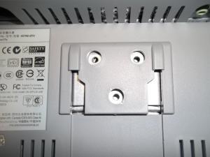 Убираем подставку монитора в сторону