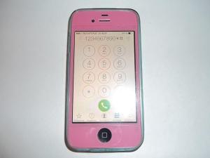 Проверяем работу тачскрина после замены дисплея на iPhone 4