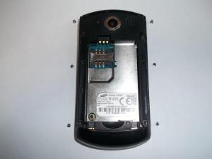Шесть винтов сотового телефона Samsung GT-E2550