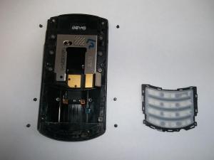 6 винтов слайдера сотового телефона Samsung GT-E2550