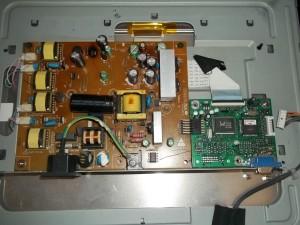Монитор Benq FP71G без защитного кожуха