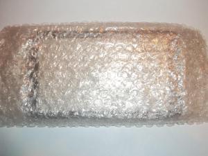 Тачскрин в пакете с пупырышками