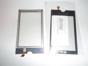 Старый и новый тачскрины для сотового телефона LG GX500