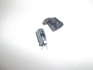 Вздутый снизу конденсатор в блоке питания цифровой фоторамки Texet TF-618