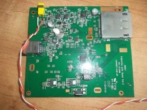 Фоторамка SONY DPF-E72N с подпаянными проводами питания