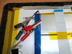Заряжаем аккумулятор планшета TurboPad 1012