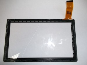 Старый тачскрин планшета LENTEL E-TPC07W