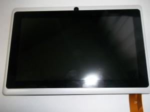 Клейка тачскрина на панель планшета LENTEL E-TPC07W