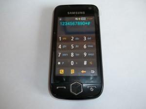 Сотовый телефон Samsung S8000 в рабочем состоянии