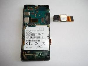 Задняя камера сотового телефона Sony Ericsson W995