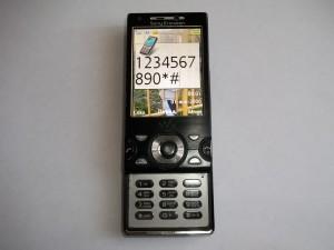 Проверка клавиатуры сотового телефона Sony Ericsson W995