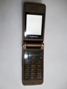 Неисправный сотовый телефон Samsung GT-S3600i