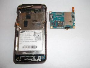Плата сотового телефона Samsung GT-S3600i