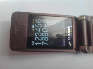 Сотовый телефон Samsung GT-S3600i в рабочем состоянии