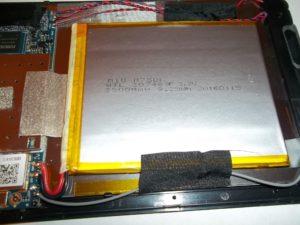 Аккумулятор планшета Oyster T72HM 3G